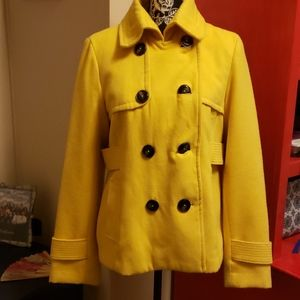 Hydraulic Yellow Peacoat Large